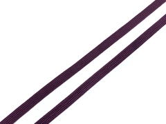 Резинка отделочная слива 6 мм