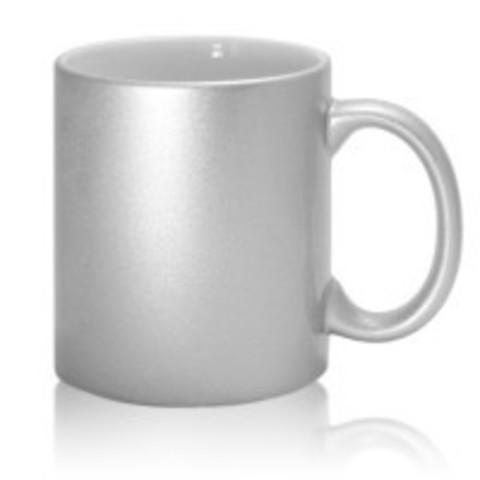 Кружка под сублимацию серебро
