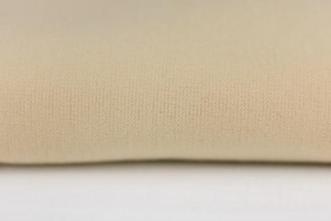 Тканина для тіла ляльки Let's make Відріз 50х50 см трикотаж ляльковий світло-бежевий