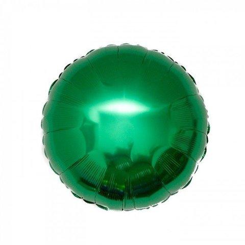 Шар круг 82 см зеленый