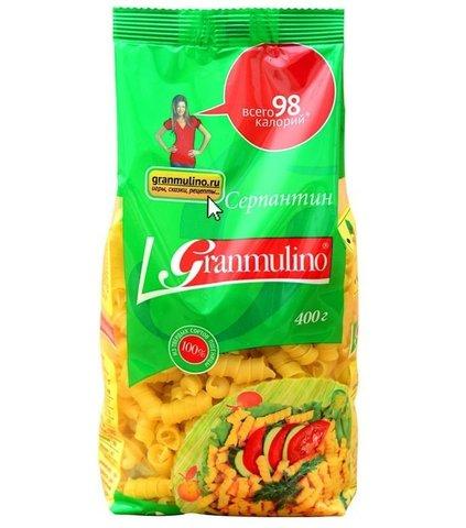 Макаронные изделия  Granmulino  серпантин 400г