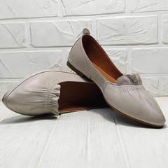 Женские туфли балетки с острым носком Wollen G036-1-1545-297 Vision.