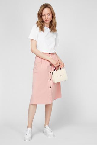 Женская пудровая юбка Tommy Hilfiger