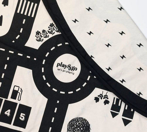 Коврик-мешок для игрушек Play&Go. Коллекция Print. Дорожная карта