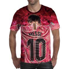 Футболка 3D принт, Лионель Месси (3Д Messi) 03