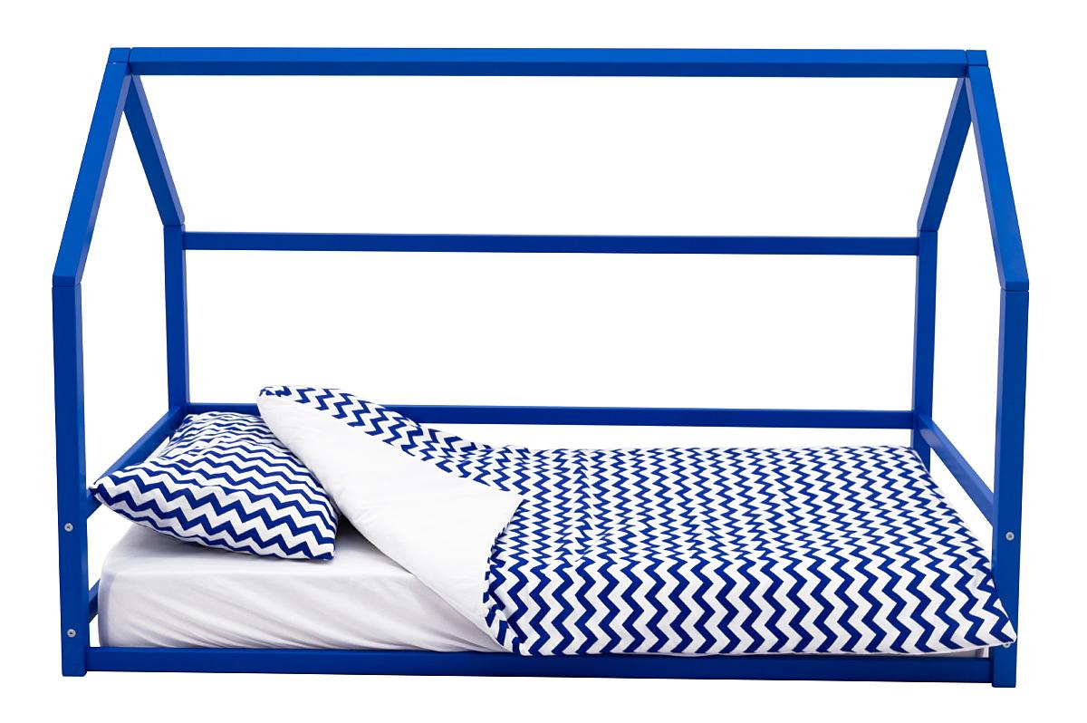 Кровать-домик Монтессори «Svogen» синий