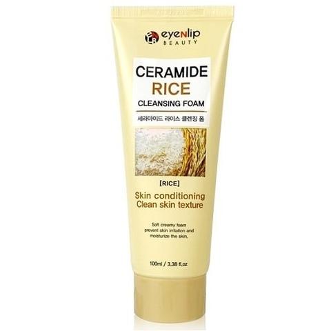Пенка для умывания с экстрактом риса и керамидами Eyenlip Ceramide Cleansing Foam