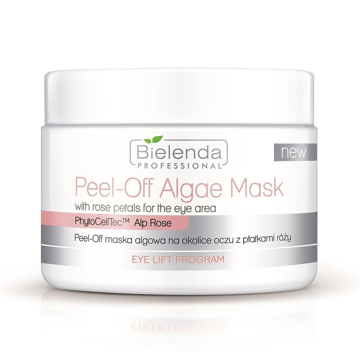 EYE LIFT PROGRAM  Peel-off альгинатная маска для кожи вокруг глаз с лепестками розы, 90 г.