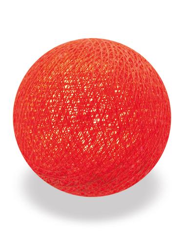 Хлопковый шарик терракот