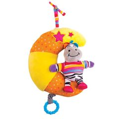 Happy Snail Музыкальная подвеска-игрушка на кроватку 2 в 1