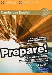 Cambridge English Prepare! Level 1 Teacher's Bo...