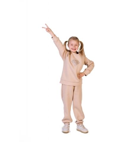 Костюм Принцесса бежевый детский