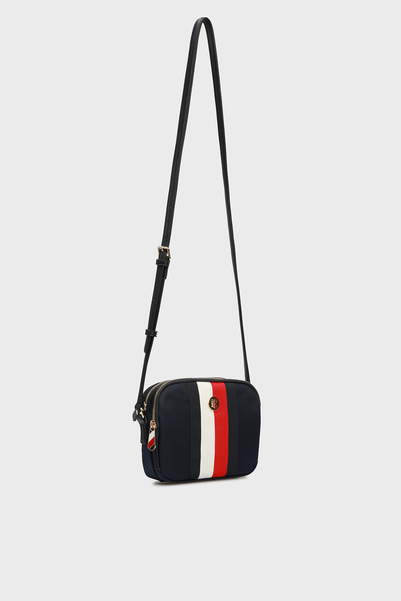 Женская темно-синяя сумка через плечо POPPY Tommy Hilfiger