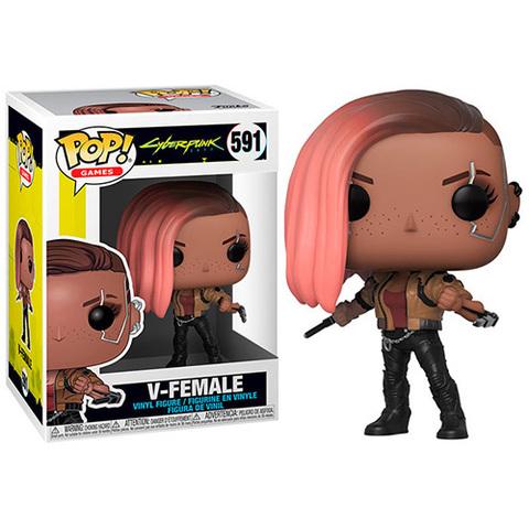 V-Female Funko Pop! Cyberpunk 2077 ||  V-девушка