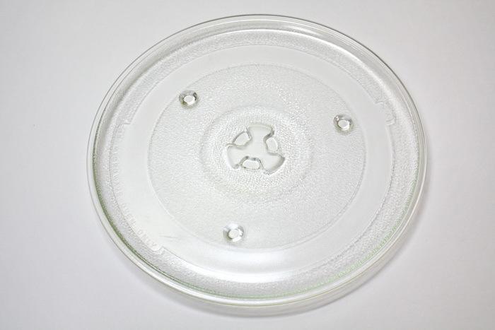 Тарелка (блюдо) для микроволновки D-270мм. c креплениями под коуплер