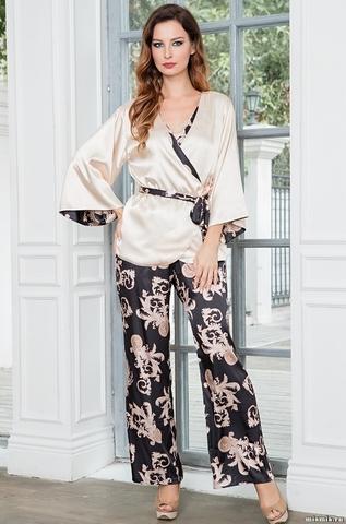 Комплект женский с брюками  Mia-Amore Версаче Голд  VERSACHI GOLD 9936