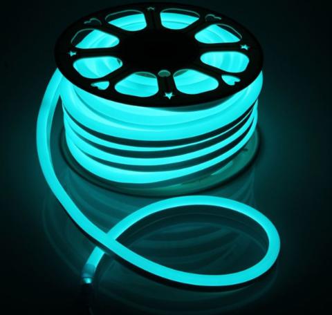 Гибкий неон 15x25 мм, светодиодный | RGB - 50м