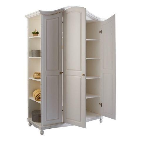 Шкаф 3-створчатый Айно 2 (белый скандик)