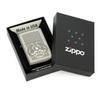 Зажигалка Zippo Classic, латунь с покрытием Ebony™, черный, глянцевая, 36х12x56 мм