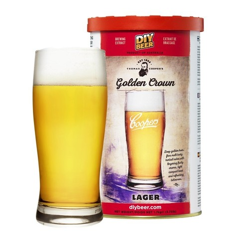 Пивной набор Coopers Thomas Coopers Selection Golden Crown Lager