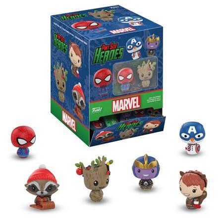 Фигурка Funko Pint Size Heroes: Marvel Holiday: 24PK PDQ 34447 (1шт.)