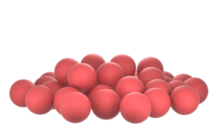 Бойлы насад. плав. Sonik Baits CRANBERRY-SHRIMP Fluo Pop-ups 14мм 90мл