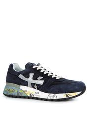 Замшевые кроссовки Premiata Mick 3830 с перфорацией