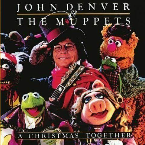Виниловая пластинка. John Denver & The Muppets 