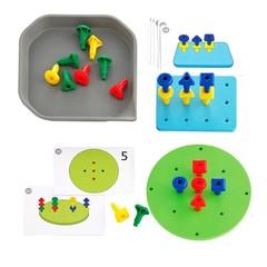 Игровой набор Мозаика Geo Pegs Edx education 39482