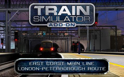 Train Simulator: East Coast Main Line London-Peterborough Route Add-On (для ПК, цифровой ключ)