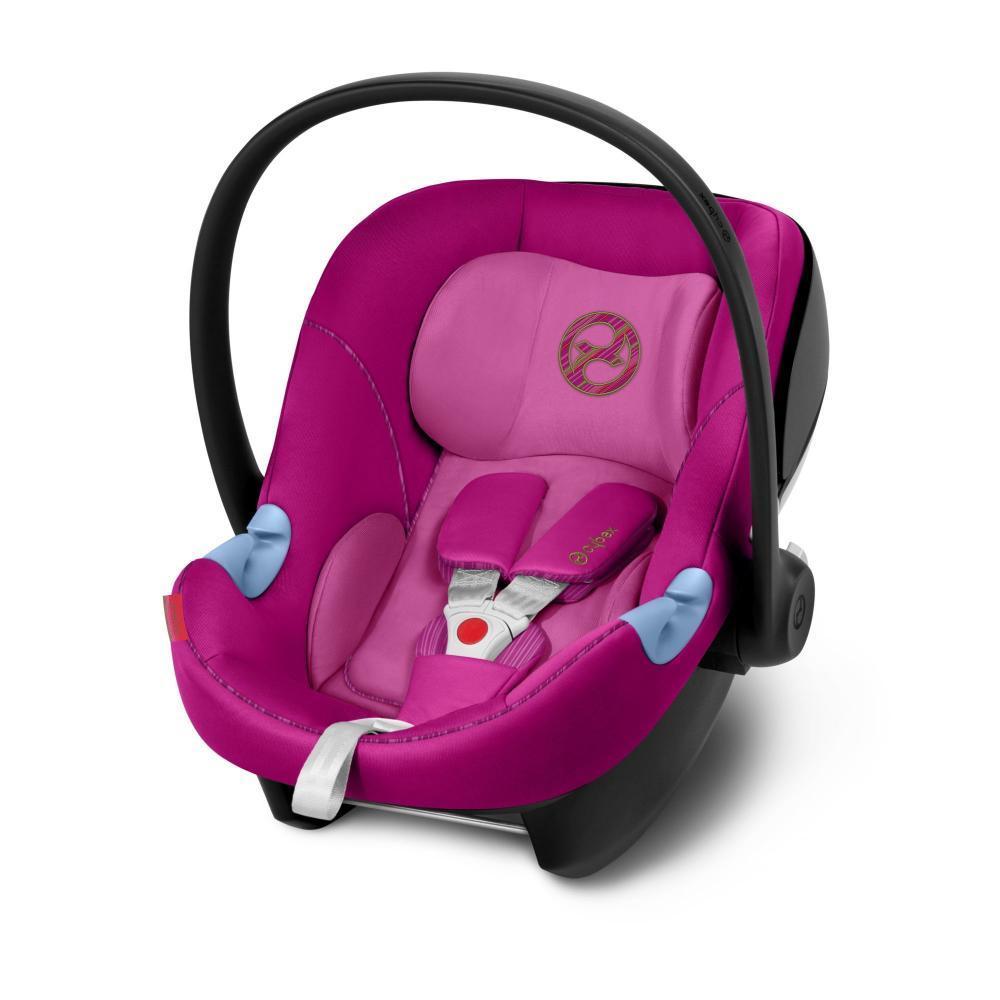 Автокресло 0+ Cybex Aton M i-Size Fancy Pink