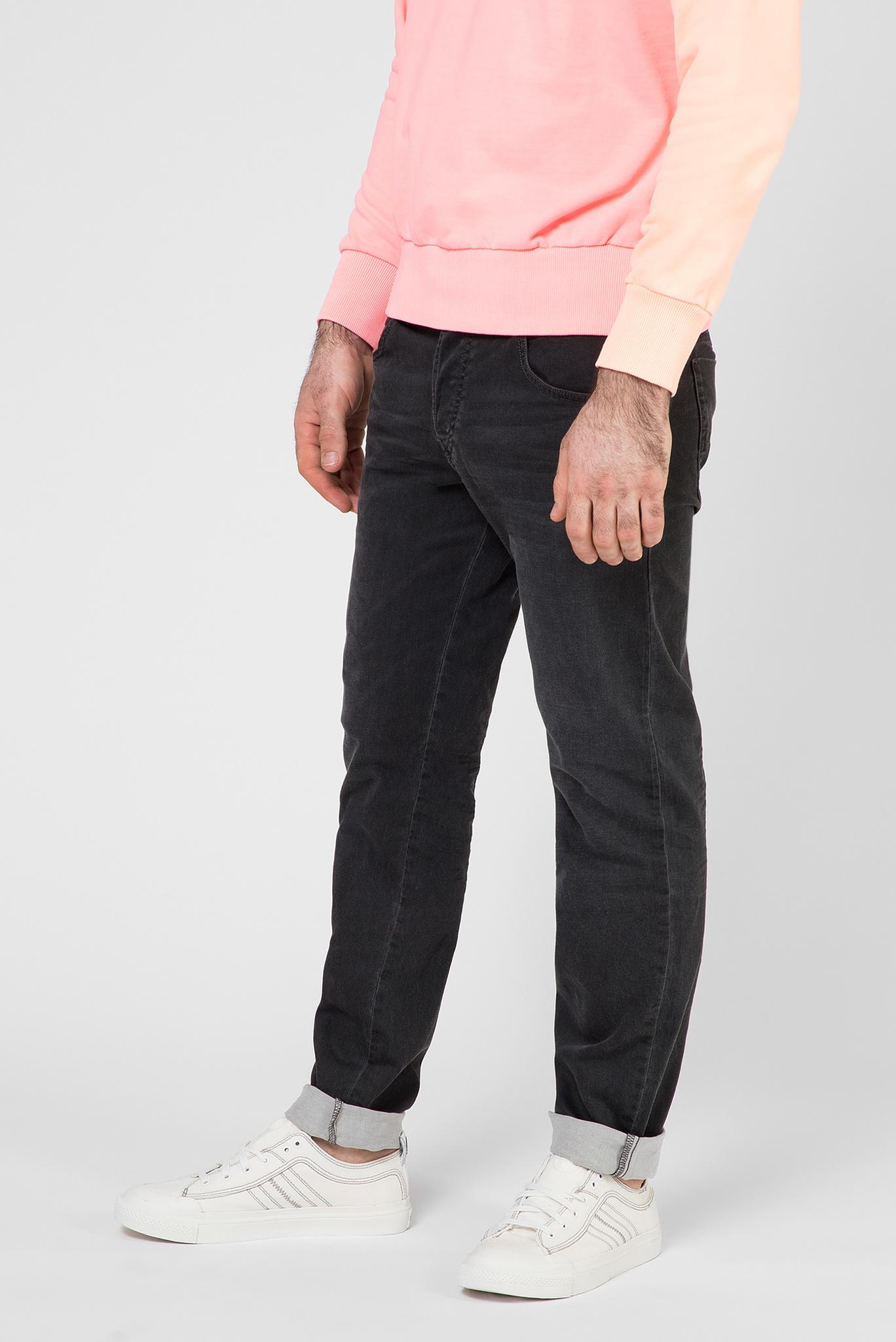Мужские черные джинсы D-BAZER Diesel