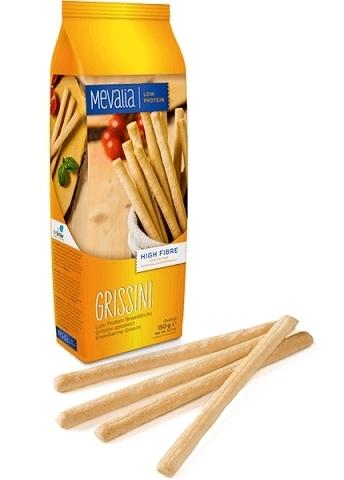 Палочки хлебные с низ.сод.белка Grissini  Mеvаlia 150г