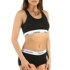 Женский комплект черный топ и боксеры Calvin Klein Women Black