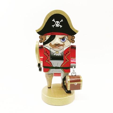 Деревянный щелкунчик орехокол   Одноногий пират