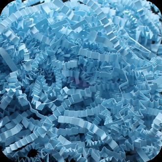 Бумажный наполнитель. Голубой