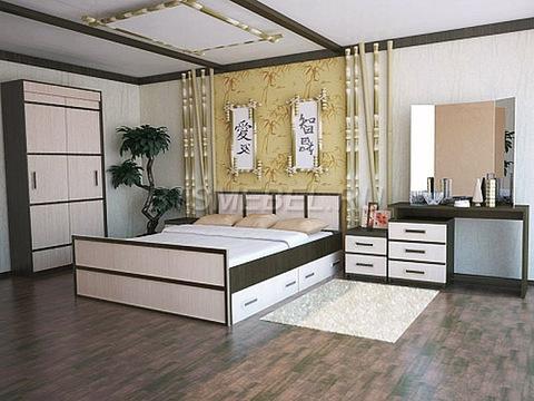 Спальня Сакура комплектация -1-