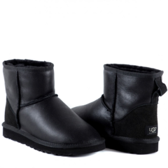 UGG Classic Mini Metallic Black Men