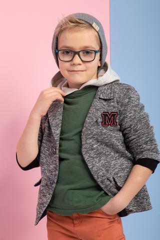 ЖК17 Пиджак для мальчика (с начесом)