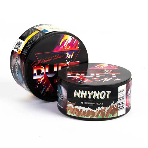 Табак Duft All-in Whynot (Мятный Раф Кофе) 25 г