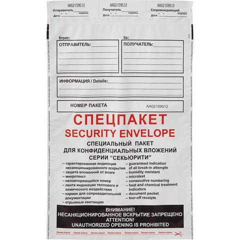 Пакет Amerplast Security Suominen B4 Куда-Кому из полиэтилена 70 мкм стрип