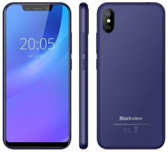 Смартфон Blackview A30 (Синий) Blue
