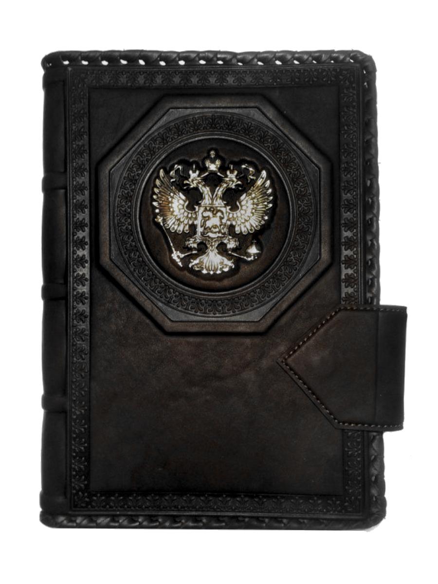 Ежедневник А5 «Империя 2». Цвет черный