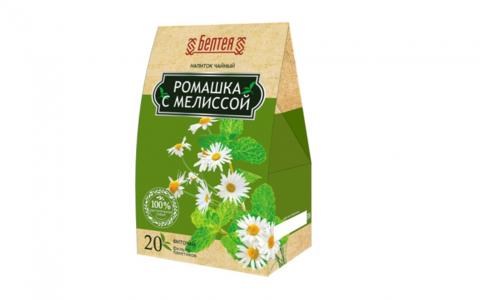 БЕЛТЕЯ  Напиток чайный тонизирующий для снижения веса  20пак Фиточай ромашка с мелиссой
