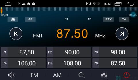 Штатная магнитола 4G/LTE Honda Civic 16+ Android 7.1.1 Parafar PF977