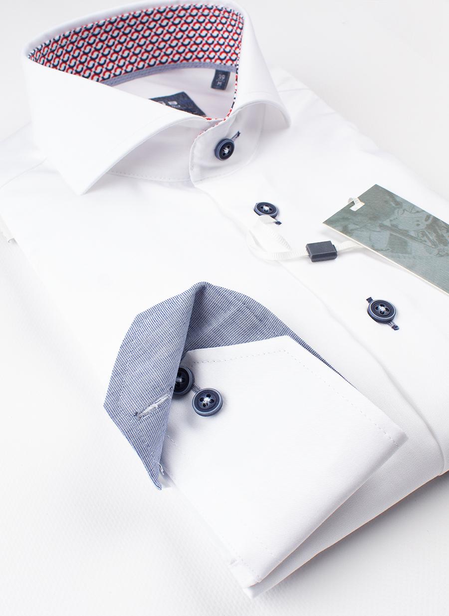 Рубашка Ledub slim fit 0137360-910-480-171