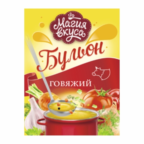 Бульон МАГИЯ ВКУСА Говяжий 90 г КАЗАХСТАН