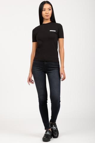 Футболка MICRO FLOCK BABY TEE Calvin Klein Jeans