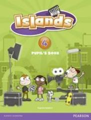 Islands Level 4 Pupil's Book plus pin code