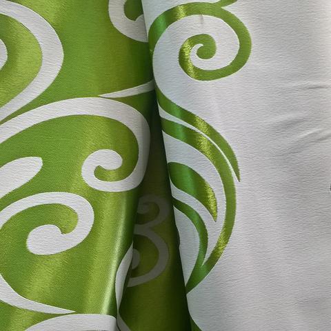 Ткань блэкаут двухсторонний с рисунком для штор. Ширина - 280 см. Арт. DJ-KR-23